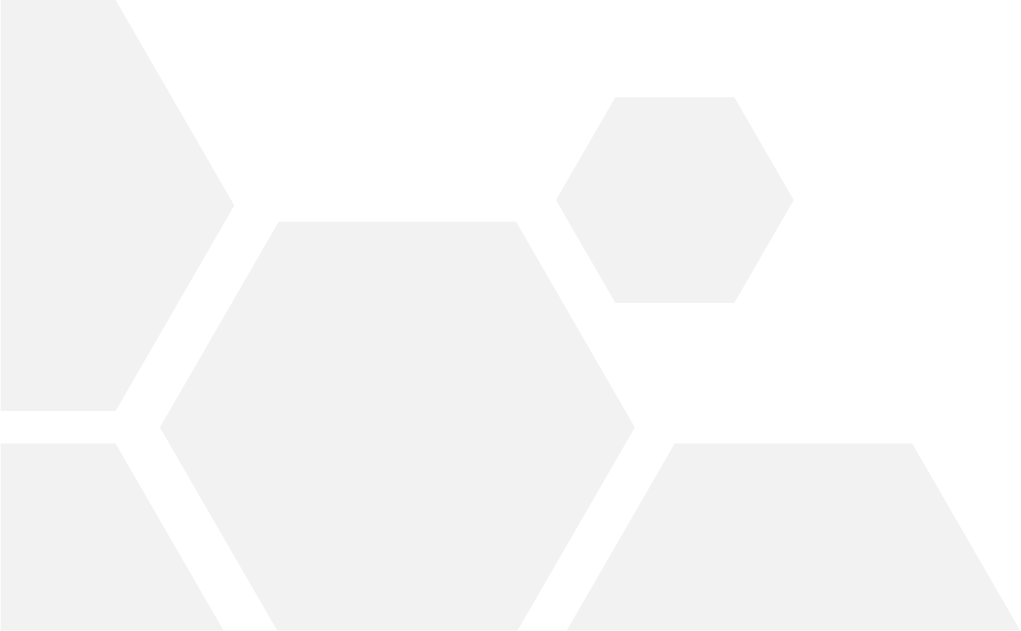Grey hexagons