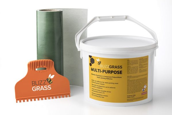 INSTALLATION BUNDLE - TURF ADHESIVE, GLUE SPREADER AND TAPE