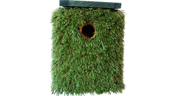 BuzzGrass artificial grass birdhouse